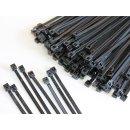 100 St. Kabelbinder Basic Tie schwarz