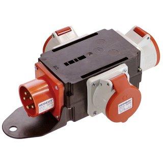 as - Schwabe Mixo CEE Stromverteiler RHEIN 400V / 16A  IP44