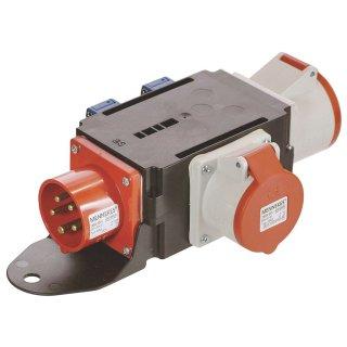 as - Schwabe Mixo CEE Stromverteiler DONAU 400V / 16A IP44