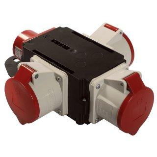 as - Schwabe Mixo CEE Stromverteiler ELBE 400V / 32A IP44