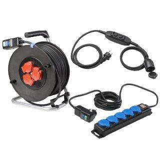 as - Schwabe PRCD Personenschutzstecker mit Kabel