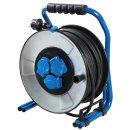 IronCoat Profi Metall Kabeltrommel H07RN-F 3G1,5