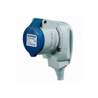 Mennekes CEE Winkelkupplung 230V / 16A  3-polig