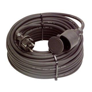 as - Schwabe 15m Verlängerungskabel 230V Gummikabel H07RN-F 3G1,5