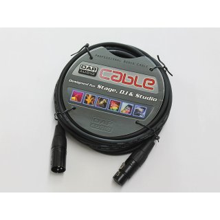DAP Audio 17 teiliges Set DMX Kabel 110 Ohm 3-pol. XLR