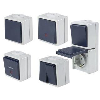 as - Schwabe Aufputz Schalter Serie AS-900